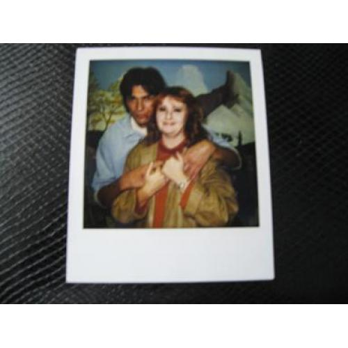 Richard Ramirez San Quentin Death Row Prison Polaroid with his wife Doreen Ramirez from 1997