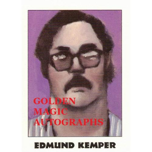 EDMUND KEMPER - TRUE CRIME CARD