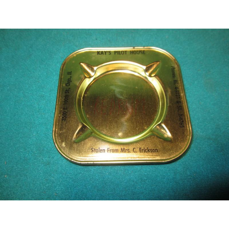 Richard Speck original kay pilot house ashtray from 1966