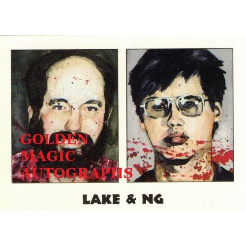LAKE AND NG - TRUE CRIME CARD
