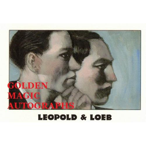 LEOPOLD & LOEB - TRUE CRIME CARD