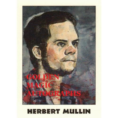 HERBERT MULLIN - TRUE CRIME CARD