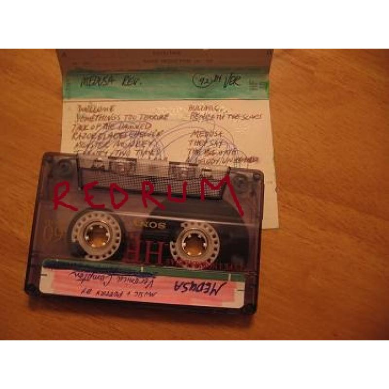 Veronica Compton extremely scarce crafted MASTER tape with music and poetry from 1992