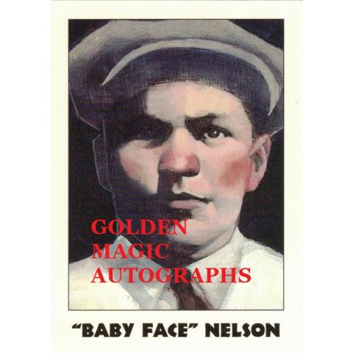 BABY FACE NELSON TRUE CRIME CARD