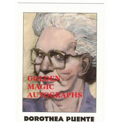 DOROTHEA PUENTE - TRUE CRIME CARD