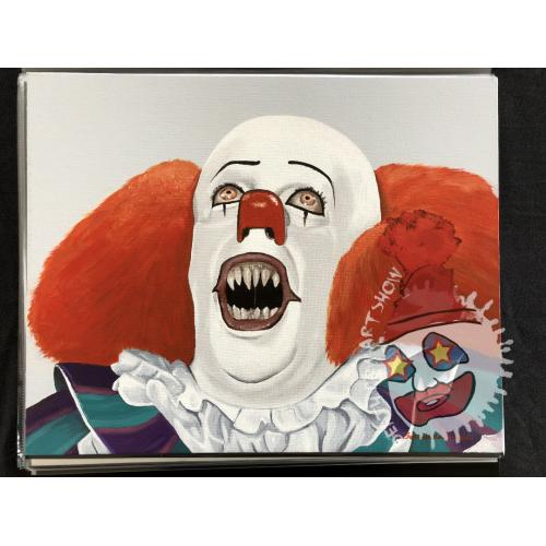 Fernando Eros Caro -- Pennywise Oil Painting