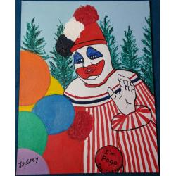 Pogo the Clown John Wayne Gacy Oil Painting