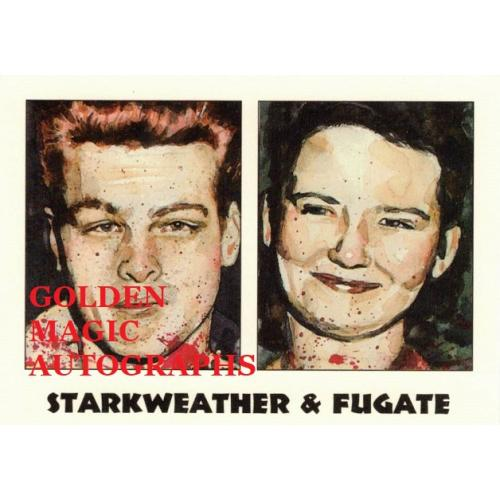 STARKWEATHER & FUGATE - TRUE CRIME CARD