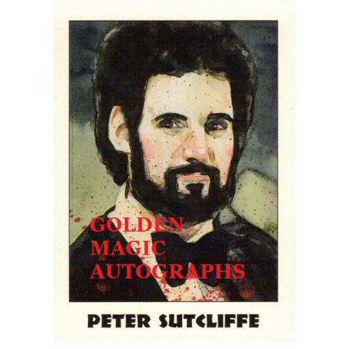 PETER SUTCLIFFE - TRUE CRIME CARD