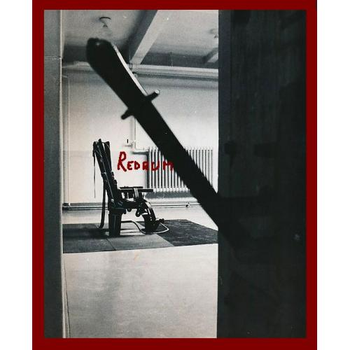 Sing SIng Prison electric chair room and switch on 4 x 6 photograph