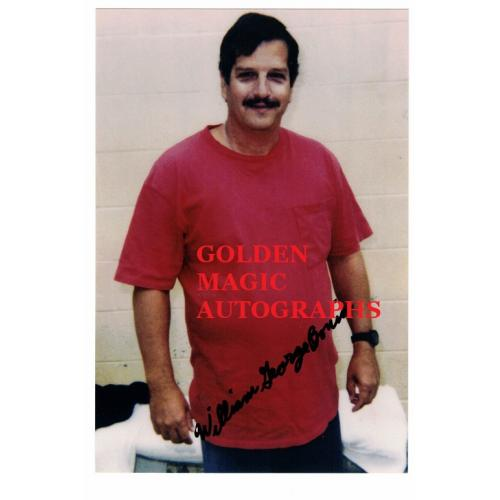 WILLIAM GEORGE BONIN SIGNED PHOTO