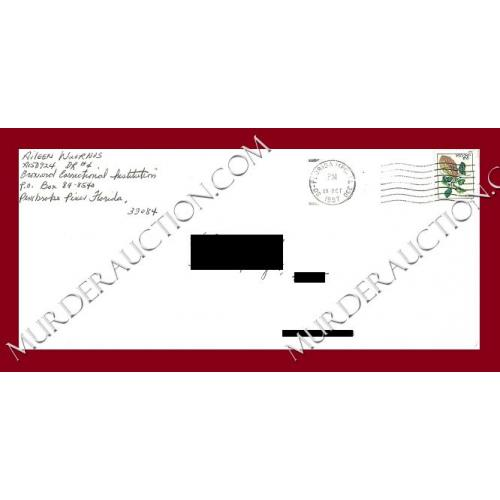 AILEEN WUORNOS envelope 10/23/1997 EXECUTED