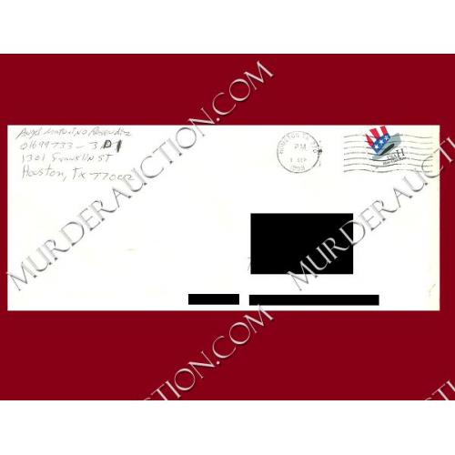 ANGEL RESENDIZ envelope 9/1/1999 EXECUTED