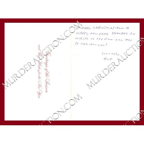 ROBERT ARTHURSON card/envelope 12/6/2007