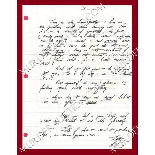 ROBERT LONG letter/envelope 12/23/1997 EXECUTED