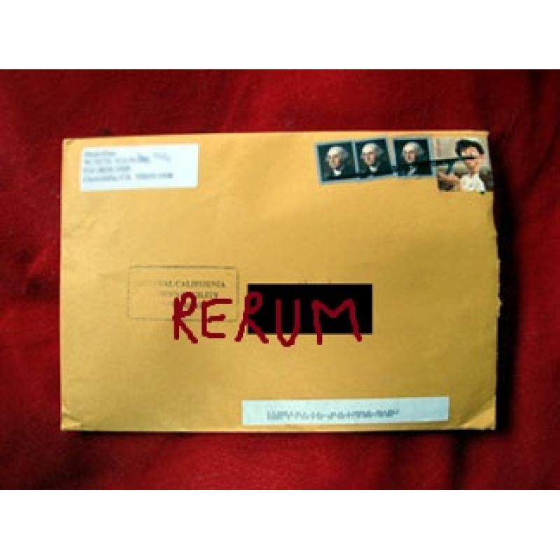Dana Gray panties worn behind bars comes with the original envelope stamped from 2010