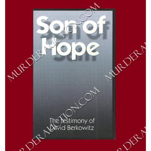 DAVID BERKOWITZ Son of Hope testimony pamphlet