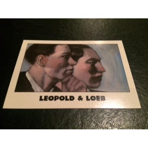 Leopold and Loeb True Crime Series Famous murderers from Eclipse Entreprises from 1992