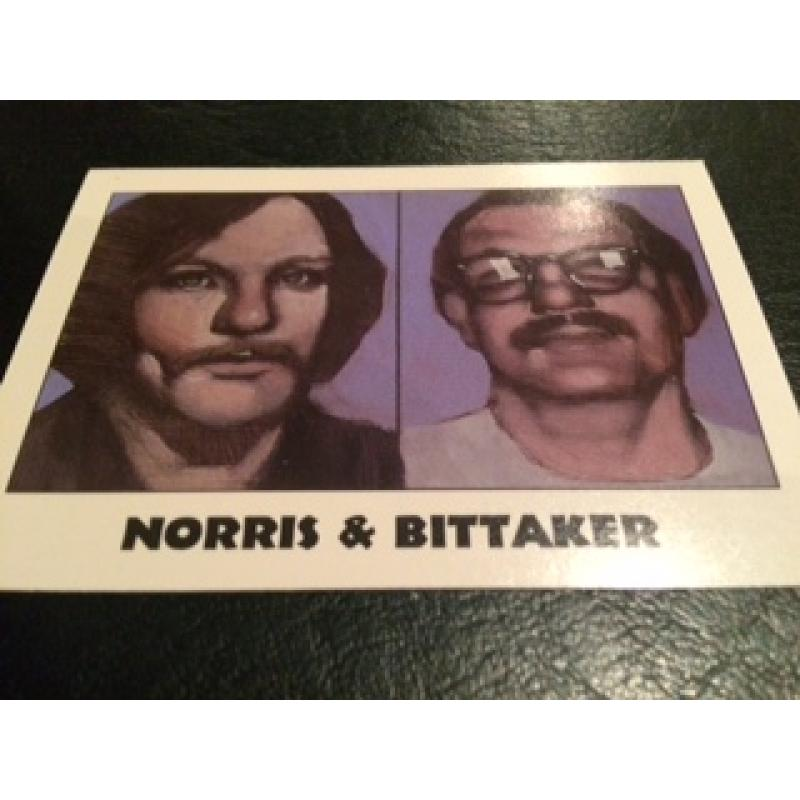 Norris and Bittaker True Crime Series Famous muderers from Eclipse Entreprises from 1992