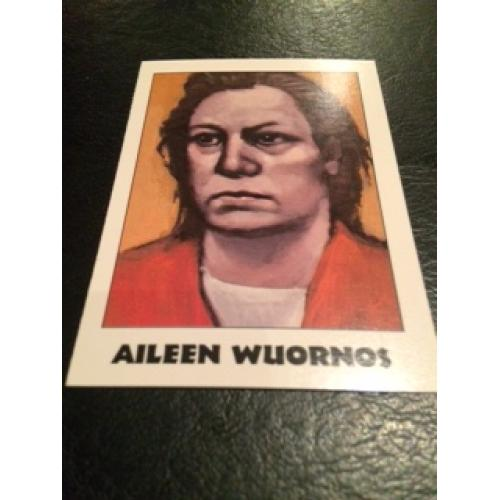 ​Aileen Wuornos True Crime Series Famous muderers from Eclipse Entreprises from 1992