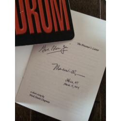 Mark David Chapman The Prisoner's Letter booklet limited printed edition signed in full on the inside from 1994