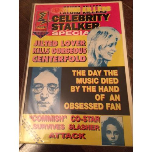 Mark David Chapman Psycho Killers Celebrity Stalkers comic book from 1992