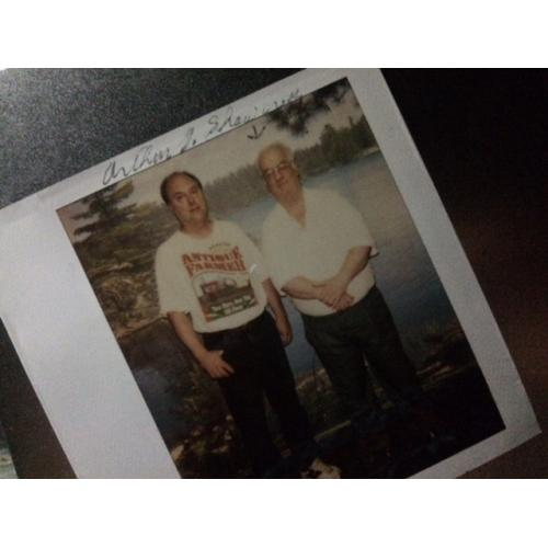 Arthur John Shawcross original great prison polaroid signed Arthur J. Shawcross