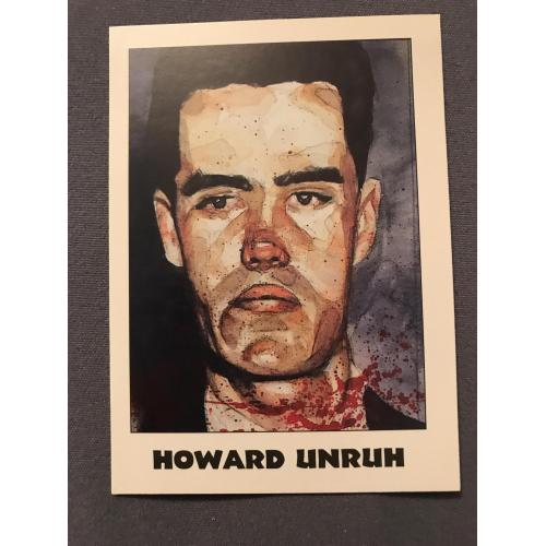 Howard Unruh True Crime card éclipse série II no. 104 from 1992