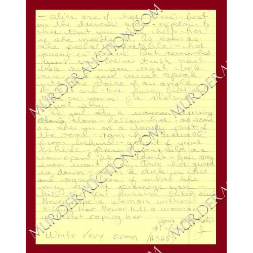 JACK TRAWICK letter/envelope 1/1/1998 EXECUTED