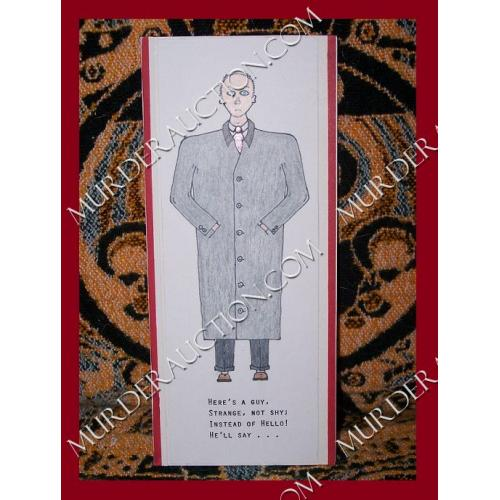 LAWRENCE BITTAKER Flasher pop up card 2014 DECEASED