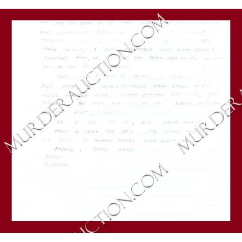DR. ASUNCION LUYAO letter/envelope 5/21/2006 PAROLED