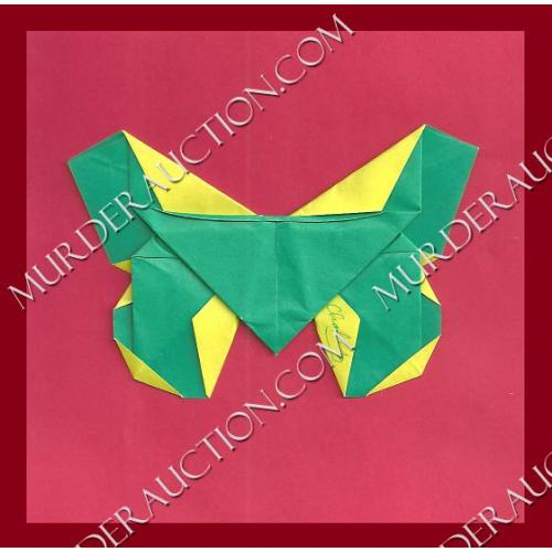 CHARLES NG signed origami butterfly