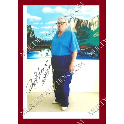 ROY NORRIS signed photo DECEASED