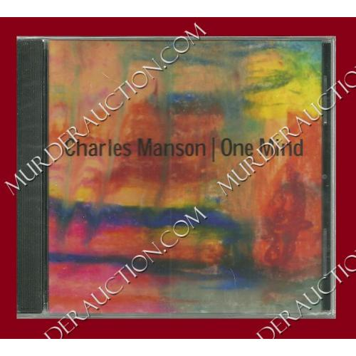 CHARLES MANSON new One Mind CD (original pressing)