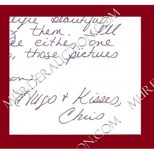CHRISTA PIKE letter/envelope 11/1/1999