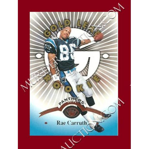 RAE CARRUTH 1997 LEAF Donruss football card #159
