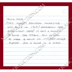 RICHARD RAMIREZ drawing & letter/envelope 3/12/2010 DECEASED