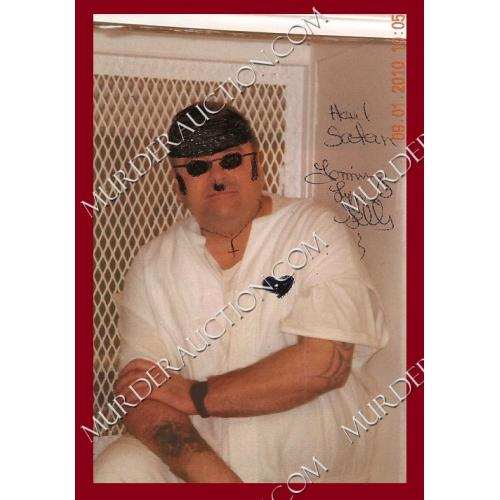 TOMMY LYNN SELLS signed photograph EXECUTED