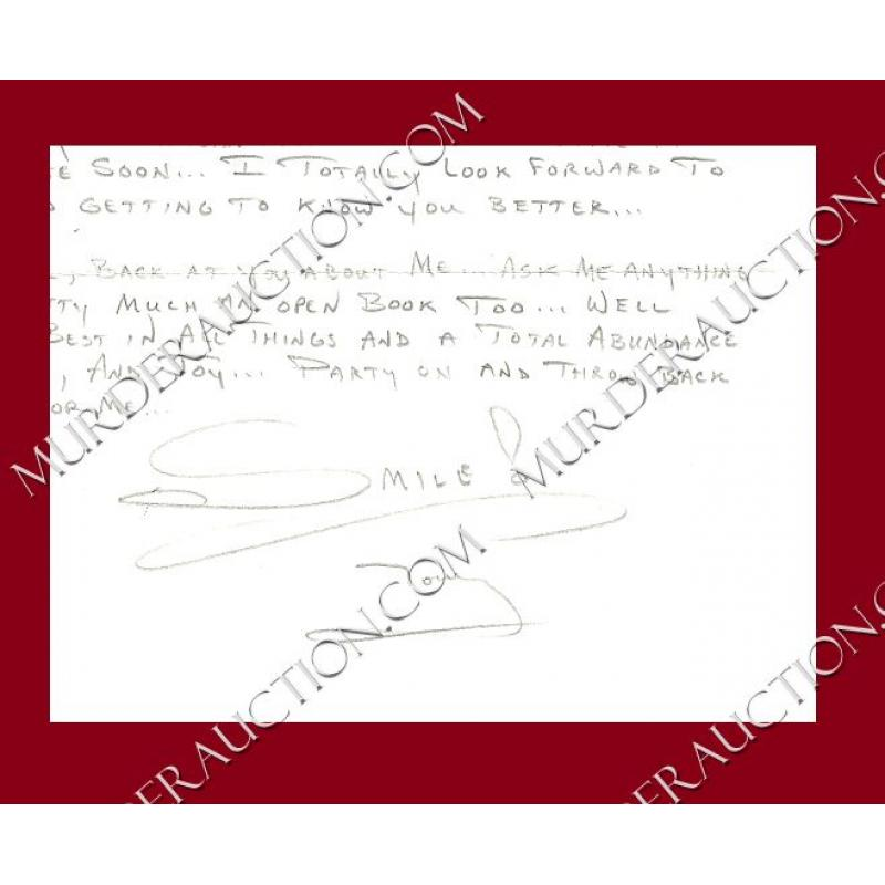 ANTHONY SHORE letter/envelope 6/17/2005 EXECUTED