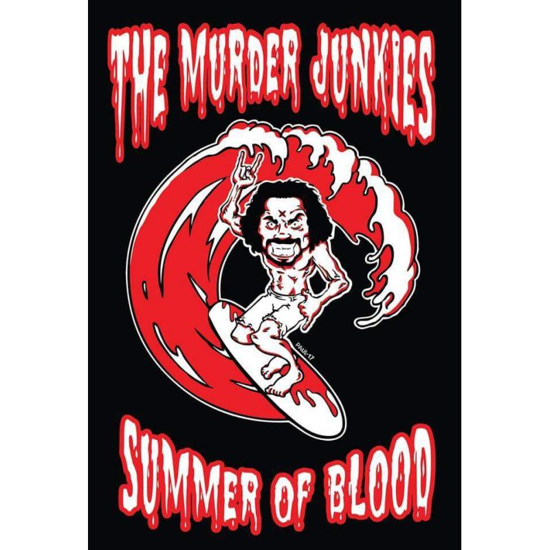 MURDER JUNKIES CHARLES MANSON SUMMER OF BLOOD T-SHIRT